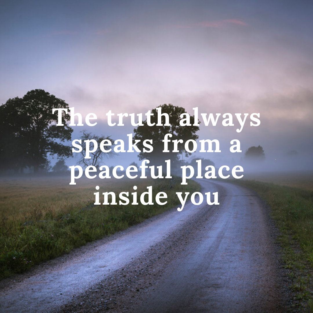 väg sanning budskap